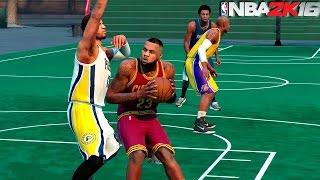 NBA 2K16  - NEW BLACKTOP Street Basketball w/LeBron James & More