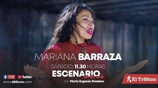 EN VIVO. Escenario en la web con Mariana Barraza