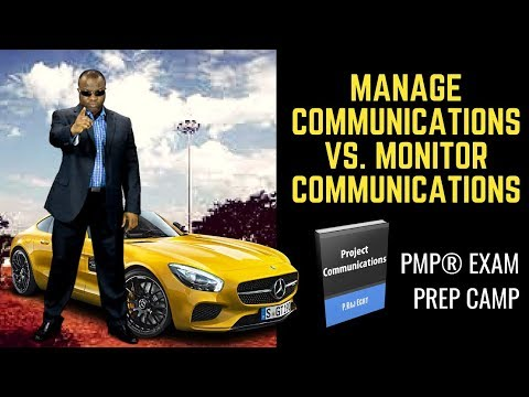 Manage Communications Vs. Monitor Communications