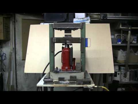 Thumbnail: Do It Yourself 20 Ton Hydraulic Forging Press