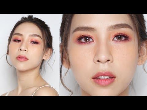 Romantic Pink Makeup Look - Tina Yong