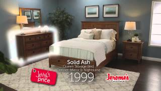 Jerome's Furniture Alta Bedroom Collection