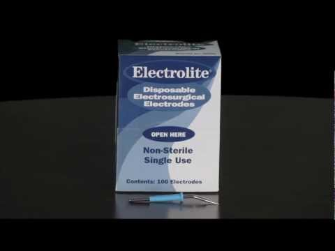 Spotlight Product is the Electrolite Disposable Electrode by Delasco