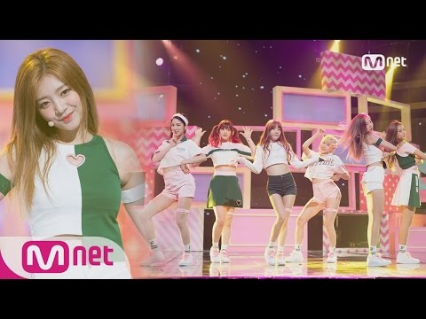 [LABOUM - Shooting Love] Comeback Stage | M COUNTDOWN 160825 EP.490