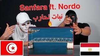 Sanfara ft. Nordo - Nbet Nhareb   نبات نحارب / Egyptian Reaction 🇹🇳