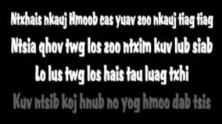 Tee Vang - Mi Nkauj Hmoob (Lyrics)