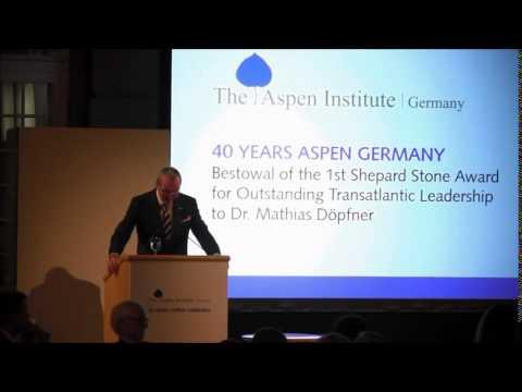 Celebration of Partners in Leadership: 40 Years Aspen Germany