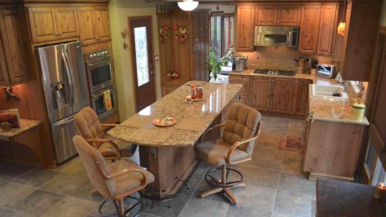 Kitchen Remodel with a Room Addition - YouTube