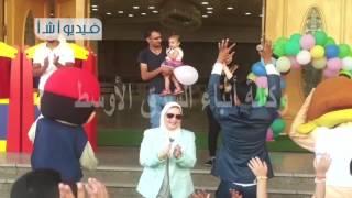 بالفيديو كرنفال عيد الفطر في مكتبة مصر العامة بمطروح