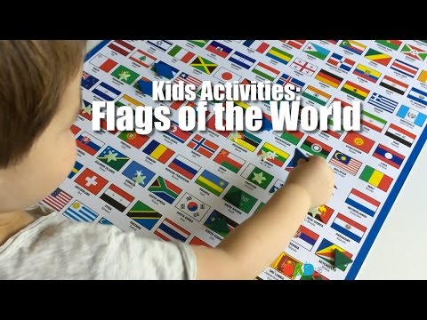 Kids Activities: Flags of the World