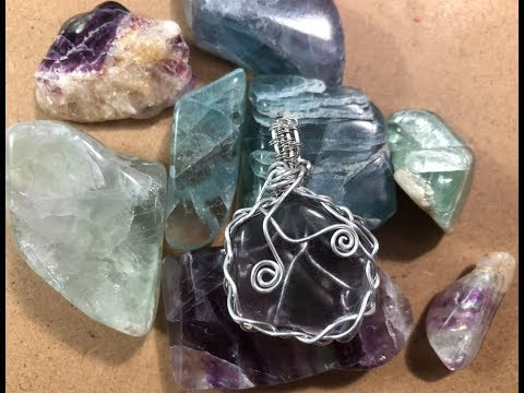 🎥  70 Acres Studio Thursday Live Stream - Wire Wrapping a Fluorite Pendant