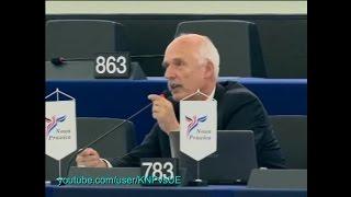 [LEKTOR PL] Janusz Korwin-Mikke w PE: NATO nic nie może zrobić (22.10.2014)