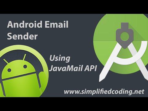 Android Email Sender Using JavaMail API