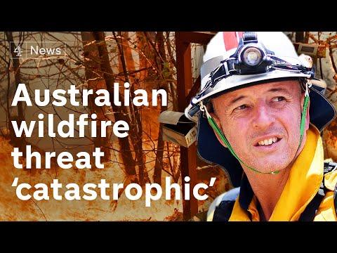 'Catastrophic' fires threaten Sydney, Australia