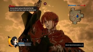 Attack on Titan Wings of Freedom Levi Gameplay Max