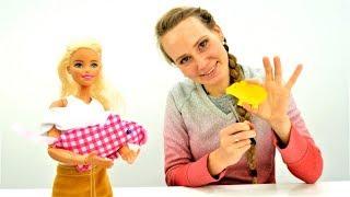Игры Барби.  Игрушка своими руками. Подарок для Штеффи.