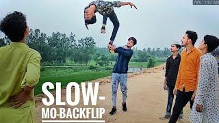 Amazing_Slow_Motion_Backflip_Stunts_2018 - TRICKING FLIPS - Incredible Slow-Mo-HighHand Backjump 🤫
