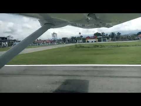 Pesawat susi air dari bandara andi djemmah masamba ke seko dgn waktu tempuh 15 menit dgn biaya 310