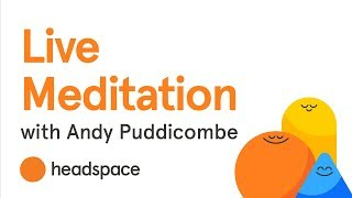 Live Meditation with Headspace's Andy Puddicombe screenshot 5