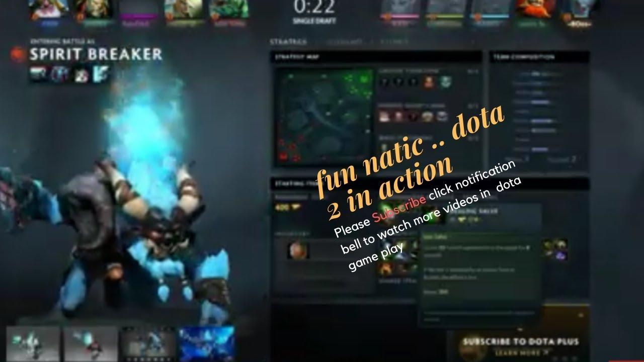 Dota 2 Spirit Breaker in action
