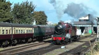 Great Central Railway - Autumn Steam Gala 2012