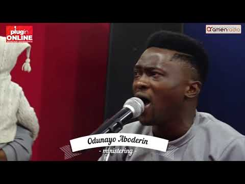 Odunayo Aboderin Powerful Ministration At PlugIn Online Worship Experience {August 2019}
