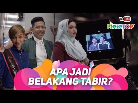 Apa Jadi Belakang Tabir MeleTOP | Dato' Sri Siti Nurhaliza, Ismail Izzani | Nabil & Neelofa