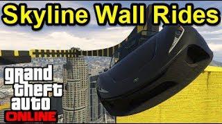 GTA5 スタント・鬼畜レース! Part403 Skyline Wall Rides