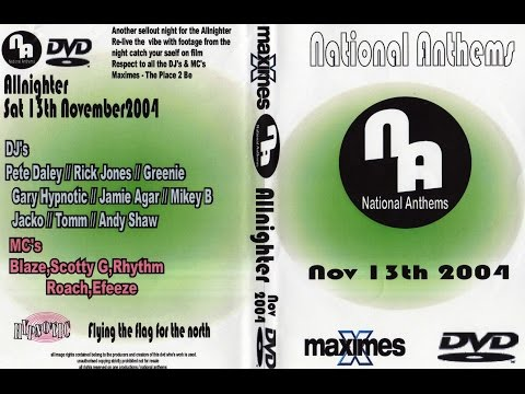 Maximes   National Anthems   13th November 2004