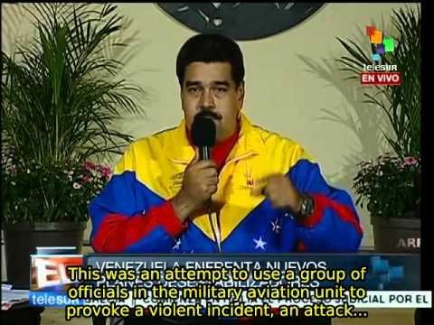 Venezuela: President Maduro announces failed coup attempt