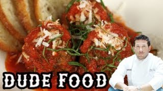 Dad's Italian Meatball Recipe - Dude Food