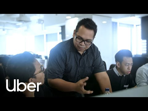 Working at Uber Indonesia