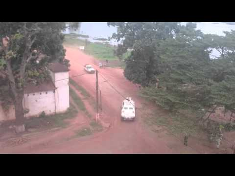Catherine Samba Panza back in Bangui / La présidente de retour a Bangui