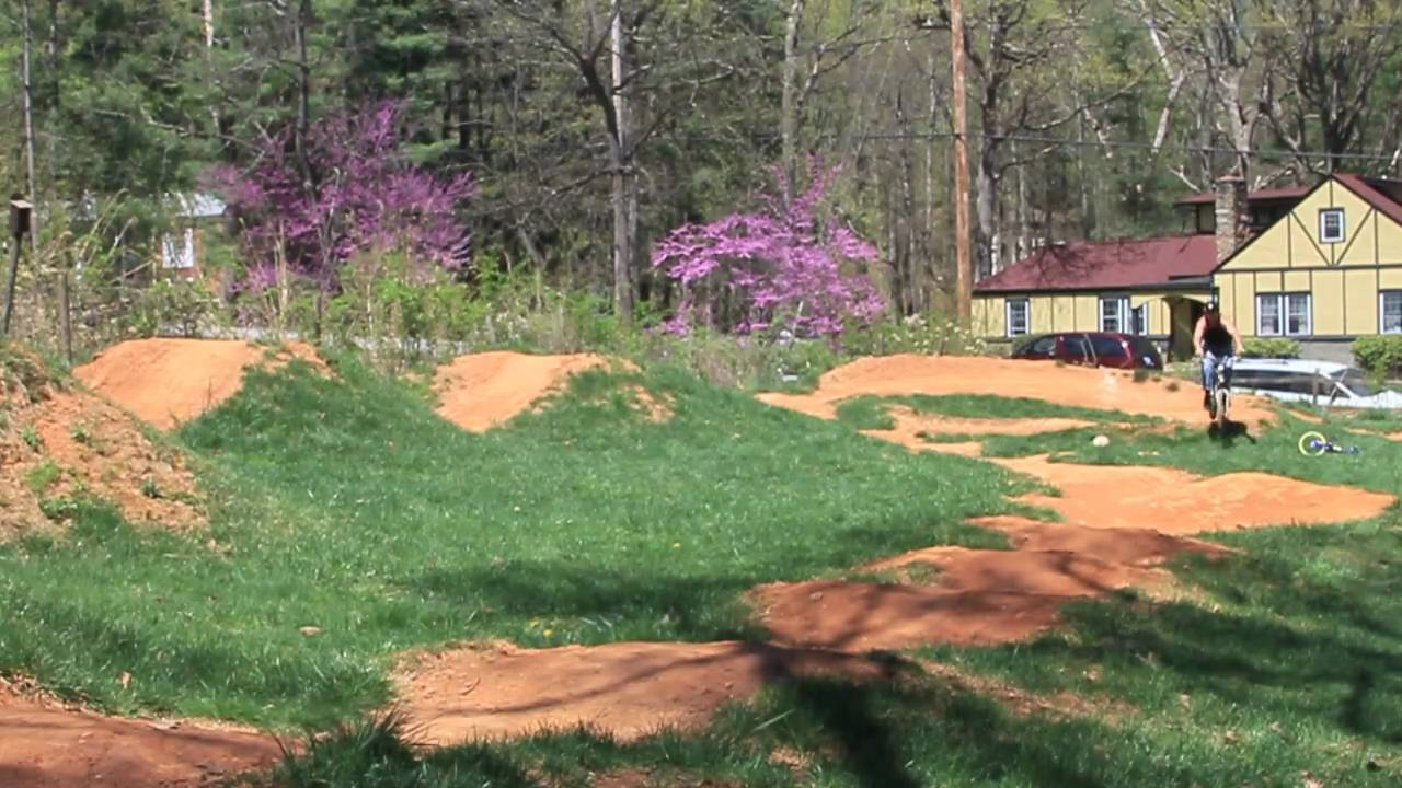 asheville pump track 4 boys 8 wheels and lots of dirt youtube