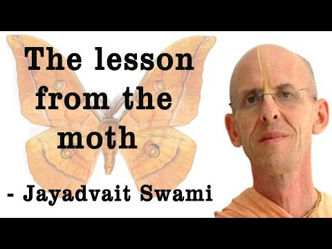 Jayadvaita Swami Lecture on The Lesson From The Moth at ISKCON Chowpatty on 1st April 2018