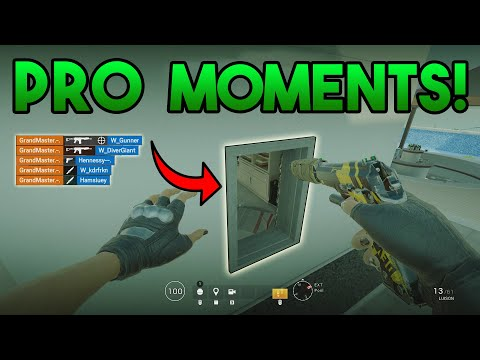 PRO Gamer Moments! - Rainbow Six Siege Gameplay