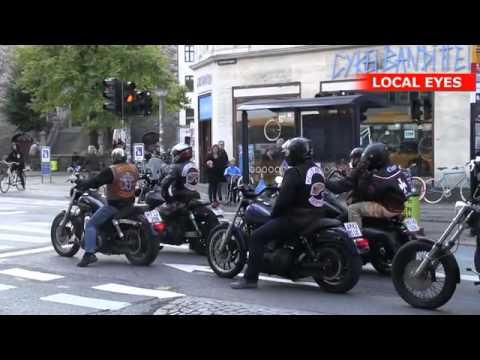 Hells Angels og Bandidos kører sammen gennem København