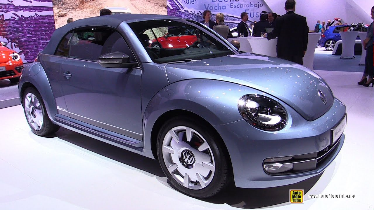 2016 Volkswagen Beetle Denim Exterior And Interior Walkaround Debut At 2017 New York Auto Show You