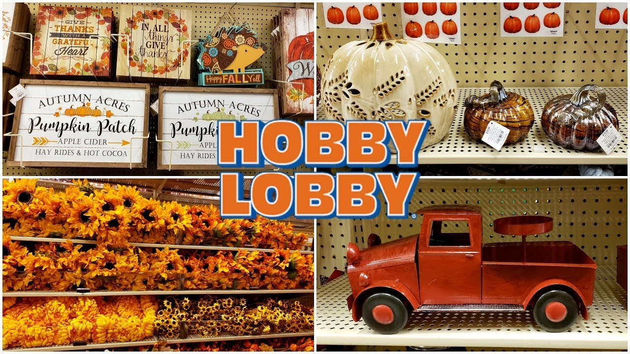 HOBBY LOBBY  FALL IS HERE  SUMMER DECOR 20  SHOP WITH ME  MAY 20