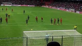 Toluca vs Veracruz 2018. Penal atajado por Talavera