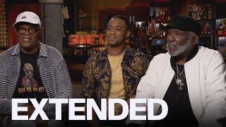 Samuel L. Jackson Explains His Laurence Fishburne T-Shirt | EXTENDED