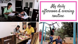 My Daily Evening Routine | Work From Home Mom's Routine | Simplify Your Space