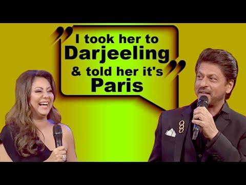 Hilarious: Shah Rukh Khan Conned Gauri On Their Own Honeymoon