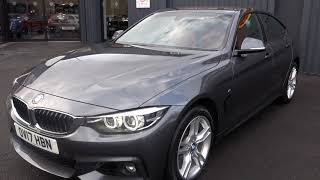USED BMW 4 SERIES 3.0 430D XDRIVE M SPORT GRAN COUPE 4d AUTO 255 BHP