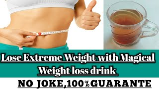 No Diet, No Exercise,Lose weight super quickly|100%Effective magical drink(Urdu/Hindi)