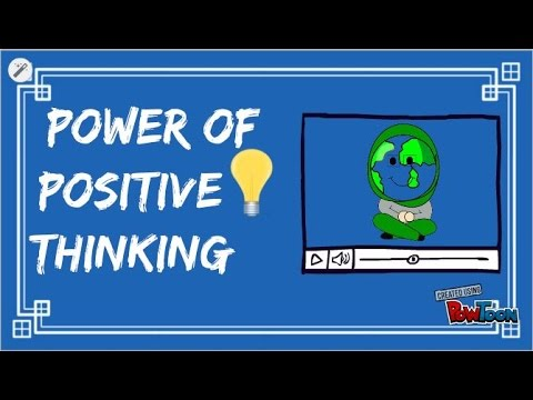 Positive Thinking -Welcome to my First Video!