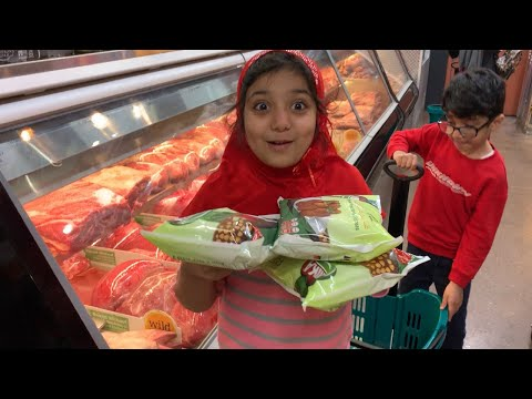 Ramdan shopping and beautiful Ramadan decor || Happy Shappy Kids