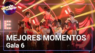 Mejores momentos de la Gala 6 de 'Bailando con las estrellas'