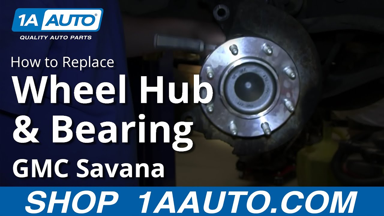 maxresdefault how to install replace front wheel hub bearing 2003 12 chevy 2010 Tahoe Front Shocks at readyjetset.co