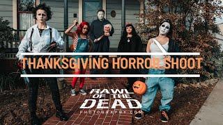 Thanksgiving Horror Shoot - Rawl of the Dead